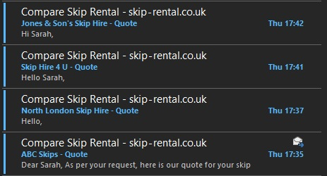 Compare Skip Hire Prices & Sizes